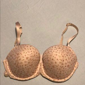 Victoria's Secret, cream with gold stars